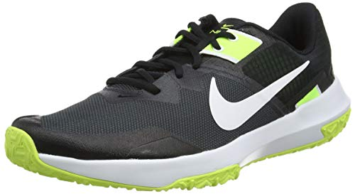 Nike Herren Varsity Compete TR 3 Gymnastikschuh, DK Smoke Grey White Black Volt, 44.5 EU