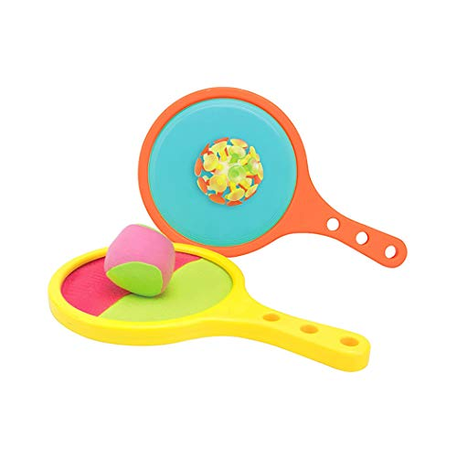 Kids Paddle Game Set Creative Portable Toss and Catch Ball Set Sport Game Set Children Educational Toy