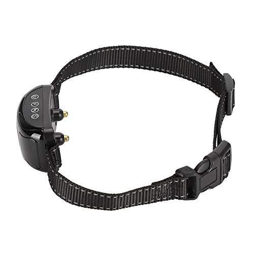 Changor Adjustable Bark Stopper, Lithium Battery Prevent Dog from Barking 300mAh Dog Collar with Plastic