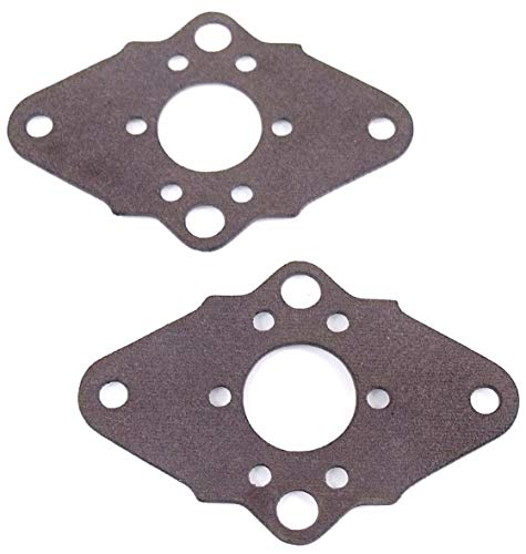 For Sale! Discounting Online 2 Laser-Cut Carburetor Mounting Gaskets Replaces Craftsman, Poulan, 530...
