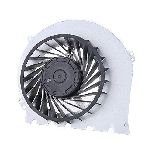 Hakeeta Vervanging van de interne ventilator, draagbare reserveonderdelen interne CPU-ventilator ingebouwde ventilator met metalen basisplaat. Zeer koeler, 12 V gelijkstroom voor Sony Playstation PS4 2000.
