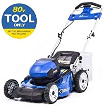 Kobalts 80-Volt Max Brushless Lithium Ion Self-propelled 21-in Cordless Electric Lawn Mower (Battery/Charger Not Included)