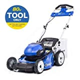 Kobalt 80-Volt Max Brushless Lithium Ion Self-propelled 21-in Cordless Electric Lawn Mower (No Battery or Charger, Mower Only)