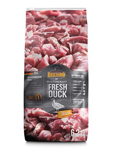 Belcando Mastercraft Fresh Duck [6,2kg] Trockenfutter für Hunde | 80% Frischfleisch | Hundefutter getreidefrei | sortenrein | für alle Rassen