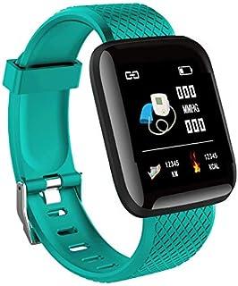 AquaBubble 116 Plus スマートウォッチ 1.3 Inch Tft カラースクリーン 防水 健康管理 消費カロリー スポーツウォッチ iOS/Android対応