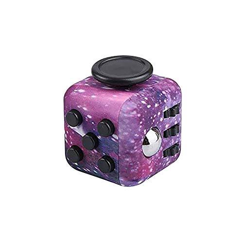 Fidget Cube, Handheld Mini Toy -Infinity Cube Stress en Angst Relief voor Kids Volwassenen met OCD ADHD Autisme, Uniek idee dat licht is op de vingers en handen
