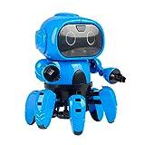 RC TECNIC Kit Robótica para Niños Six | Robot para Montar, Control por Gestos y Sensor De Obstáculos |...