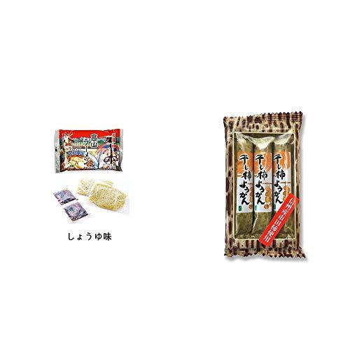[2点セット] 飛騨高山ラーメン[生麺・スープ付 (しょうゆ味)]・信州産市田柿使用 スティックようかん[柿](50g×3本)