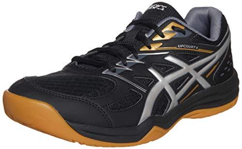 ASICS 1071A053-001_44,5, Zapatillas de Voleibol Hombre, Noir Gris, 44.5 EU