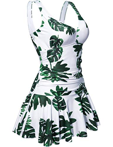 Swimming Costumes for Women's Plus Size Cruise Sexy Vintage Removable Padding Swimsuits One Piece Boys Skirts