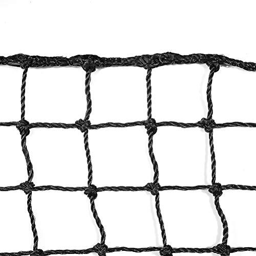Aoneky Polyethylene Baseball Backstop Nets, 10x30ft Sports Practice Barrier Net, Heavy Duty Hitting Containment Netting, Baseball High Impact Net
