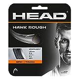 HEAD Unisex-Erwachsene Hawk Rough Tennis-Saite, Anthracite, 17