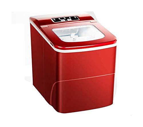 LJJOO Máquina de hielo automática compacta Miller Miller de 6-8 minuto Máquina de hielo de alta velocidad Hogar Pequeña bala pequeña Máquina de fabricación de hielo Máquina de hielo eléctrico 150W Aho