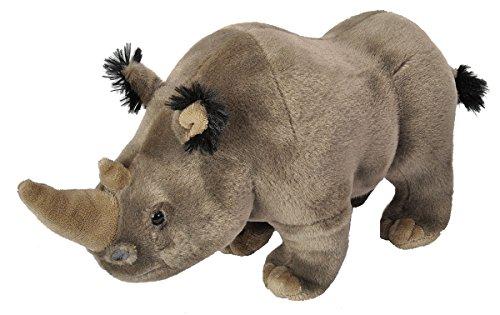 Wild Republic Peluche Rinoceronte Cuddlekins, 30cm