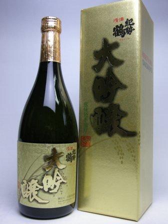 高垣酒造 紀勢鶴大吟醸 720ml