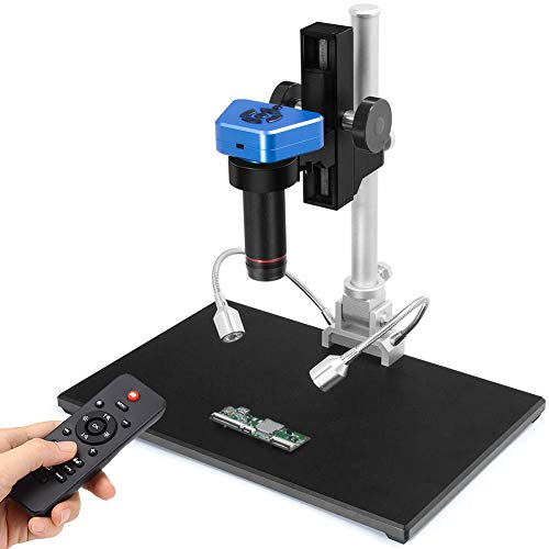 Andonstar AD1605 4K HDMI Digital Microscope 14MP Industry Camera for PCB Soldering Repair, Video Microscope with Big Base and High Working Distance