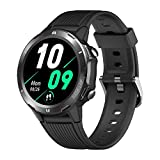 TicKasa N1 Smart Watch for Android Phones and iPhones, 5ATM Waterproof Bluetooth Sport Smartwatch, Fitness Tracker with Heart Rate Sleep Monitor, Step Calorie Counter, 1.3' Touch Screen for Men Women