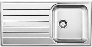 BLANCO LIVIT 45 S SALTO - Spülbecken Edelstahl, 1 Bowling, 340 x 420 mm, 15,5 cm, 860 mm, 155 mm
