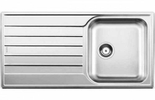 Blanco - 514786 - Évier - Blancolivit 45 S Salto - Encastrable - 45 cm - Acier inoxydable brossé