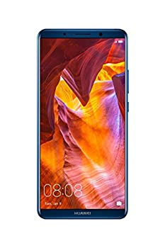 Huawei Mate 10 Pro Unlocked Phone 6  6GB/128GB AI Processor Dual Leica Camera Water Resistant IP67 GSM Only - Midnight Blue  US Warranty