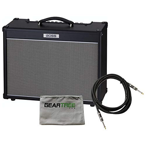 Boss NEXTONE ARTIST Combo Electric Guitar Amp w/Polish Cloth and Cable