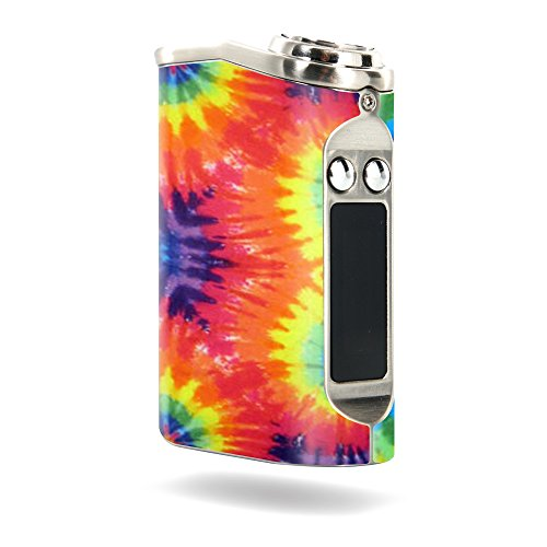 MightySkins Skin Compatible with Tesla Nano 60W TC – Tie Dye 2   Protective, Durable, and Unique Vinyl Decal wrap Cover   Easy to Apply, Remove, and Change Styles   Made in The USA