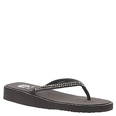 Yellow Box Jamelle Women's Sandal 8.5 B(M) US Grey