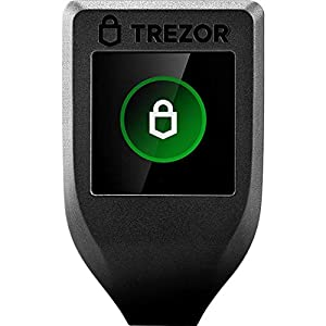 Trezor Model T - Next Generation Crypto Hardware Wallet with LCD Color Touchscreen and USB-C, Store Your Bitcoin, Ethereum, ERC20 and More with Total Security