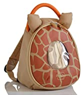 TODDLER DESIGNER ORANGE POD- The cute PacaPod Toddler Pod Flame Giraffe is a mini rucksack, with reins & detachable safety strap DETACHABLE SAFETY STRAP -For those little ones with itchy feet and dreams beyond their ability, a detachable safety strap...