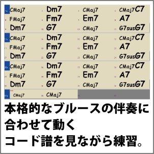 『ブルースでウクレレ【基本コード編】/U-BL-01』の4枚目の画像