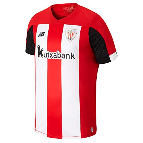 New Balance 2019-2020 Athletic Bilbao Home Football Soccer T-Shirt Camiseta