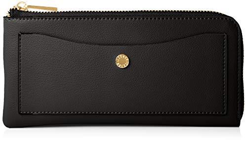 [レガートラルゴ] LJ-P0112 軽量ボンディングフェイクレザー長財布 うすいさいふ 重さ130グラム カード収納12枚 ポケット3枚 ブラック