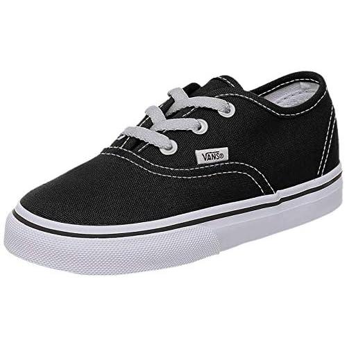 Vans Authentic Sneaker, Unisex Bambino, Nero (Black/True Whit 6BT), 35