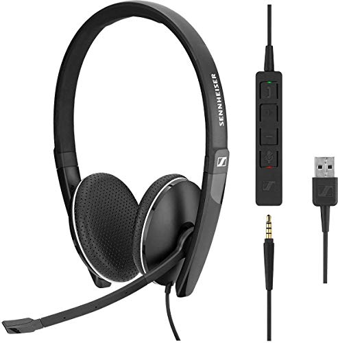 Sennheiser SC 135 Headset USB Mono 508316, Schwarz