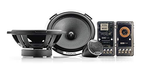 Focal PS165 Set de Medios y Tweeter, 2 Vías, 16.5 cm (6 1/2″), 2 piezas
