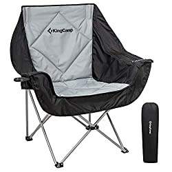 KingCamp Oversize Camping Folding Sofa Chair