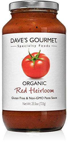 Dave's Gourmet Pasta Sauce, Organic Red Heirloom Tomato, 25.5 oz