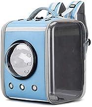 WWQQ Draagbare huisdier reizen ademende rugzak, ruimte capsule schuim ontwerp, en puppy waterdichte handtas rugzak (kleur: C)