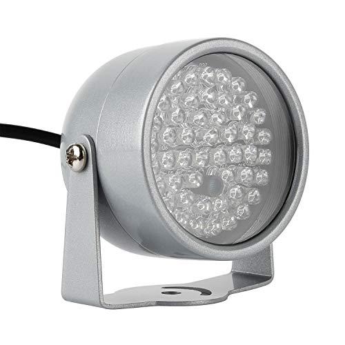 Wilktop IR-Strahler Licht 60°8W LED Infrarot Scheinwerfer Nachtsicht Night Vision 60°8W mit Netzteil