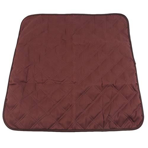 Weryffe Multifunctional Sofa Cushion Square Coussins pour Animaux de Compagnie Doux et Lisses Protecteur de Meubles Housse de canapé (café)