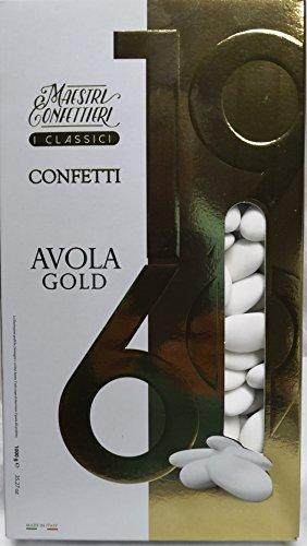 CONFETTI MAXTRIS AVOLA Gold MANDORLA 40 BOMBONIERA
