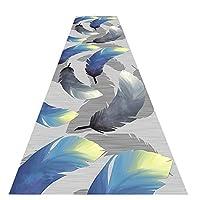 ZEMIN 廊下敷きカーペット ラグ じゅうた 廊下 マット 吸音 長いです エリア カーペット 単純な、 マルチサイズ カスタマイズ可能 (Color : G, Size : 0.9x2.5m)