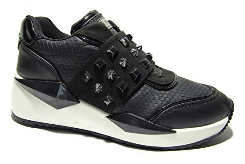 Guess FL8TILFAL12 Scarpe Sneakers Donna con Borchie Nere (numeric_39)