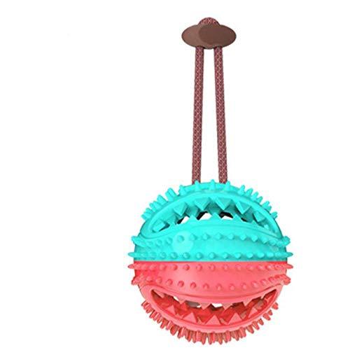 llv hond speelgoed bal geluid slijpen tanden bijt touw knoop bijt-resistente puzzel voedsel bal grote hond verlichting artefact