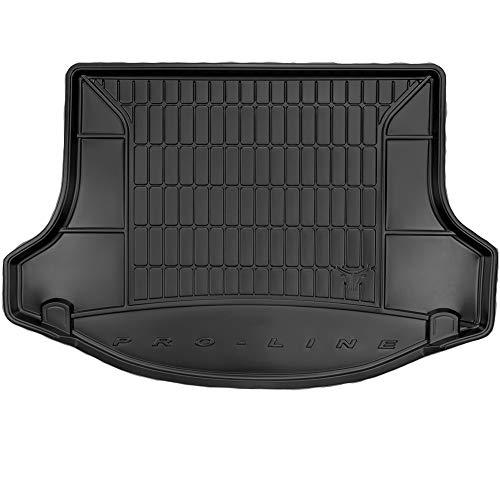 DBS Tapis de Coffre Auto - sur Mesure - Bac de Coffre pour Voiture - Rebords Surélevés - Caoutchouc Haute qualité - Antidérapant - Simple d'entretien - 1766558
