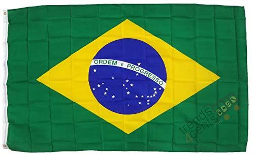 XXL Flagge Fahne Brasilien 150 x 250 cm