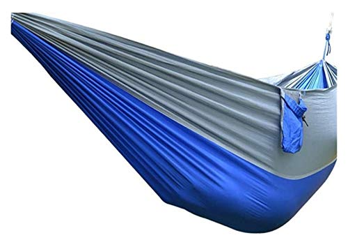 WERTYG Camping Hammock Single Double, Lightweight Portable Hammock for Outdoor Hiking Travel Backpacking - Nylon Hammock Swing (Color : 1#, Size : Onesize)