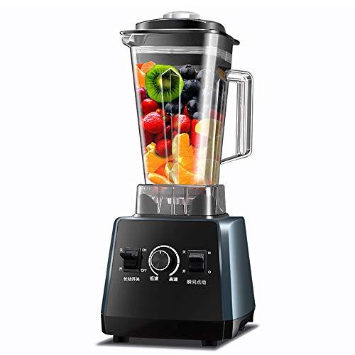 Rong Ice Crusher - Haushalt Countertop Ice Crusher/Mixer/Smoothie Hersteller, Vollautomatisch/Leistungsstark/Multifunktions-Frucht- / Gemüsesaftpresse, 220v,Blue