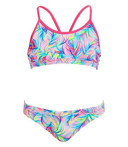 Funkita Mädchen Racerback Two Piece Palm Springs Bikini (AUS12 / DE164)