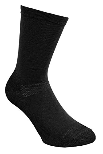 Pinewood Coolmax-Liner - Calcetines Unisex, Color Negro, Talla 43-45